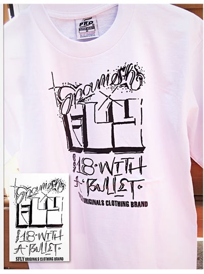 Image of Spanish FLY OG's Soy 18 with A Bullet (Classic) T-Shirt