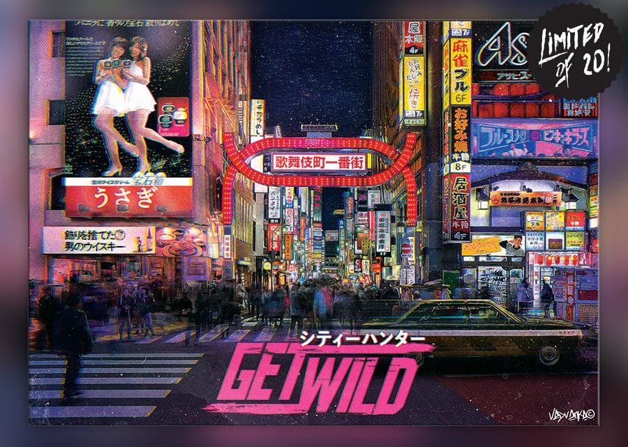 Image of Get Wild -  Mr. Saeba / Kabukichō & C. Hunter Inspiration