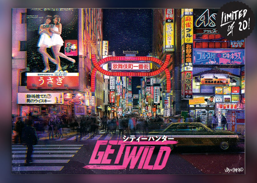 Image of Get Wild -  Mr. Saeba / Kabukichō & C. Hunter Inspiration