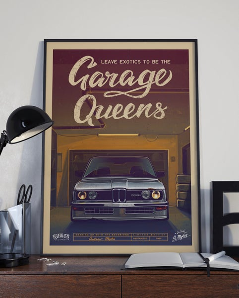 Image of Garage Queen Limited Edition Poster