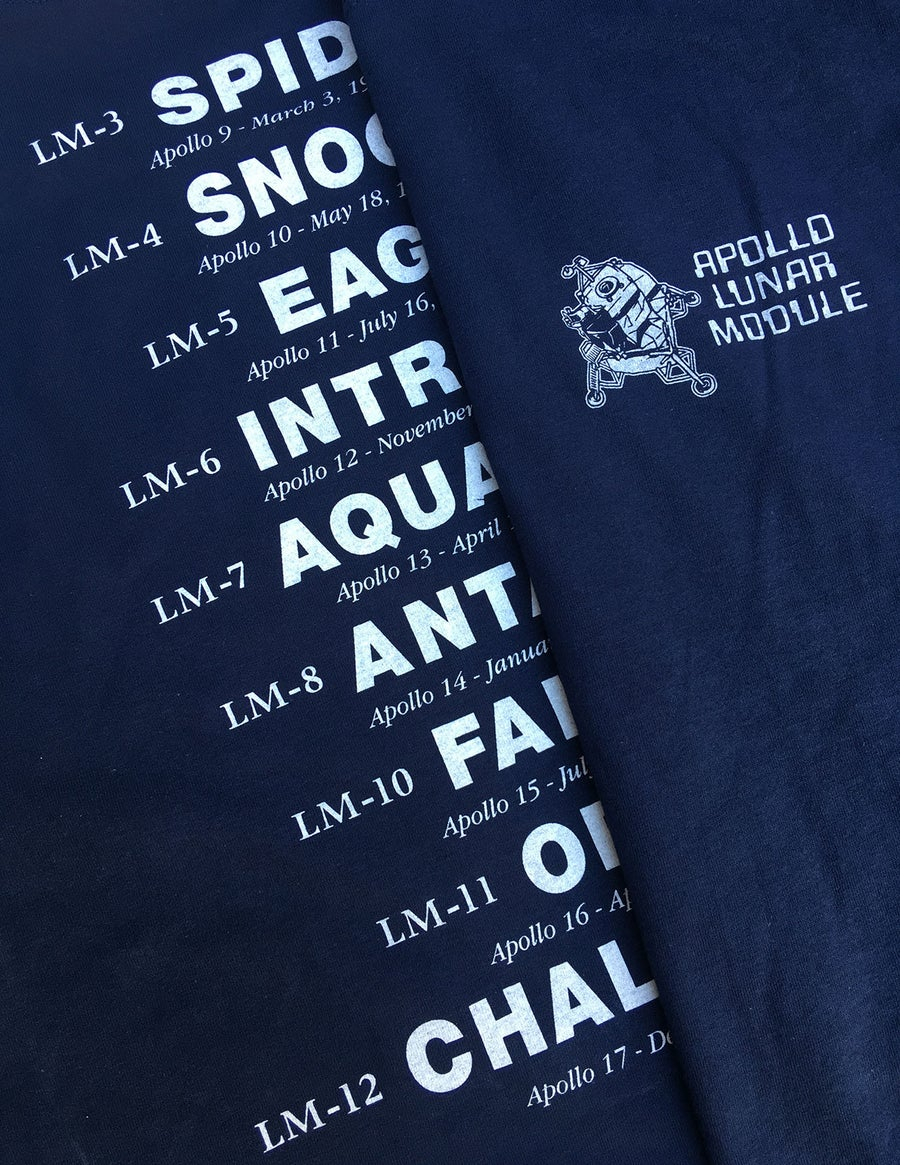 Image of Apollo Lunar Module t-shirt