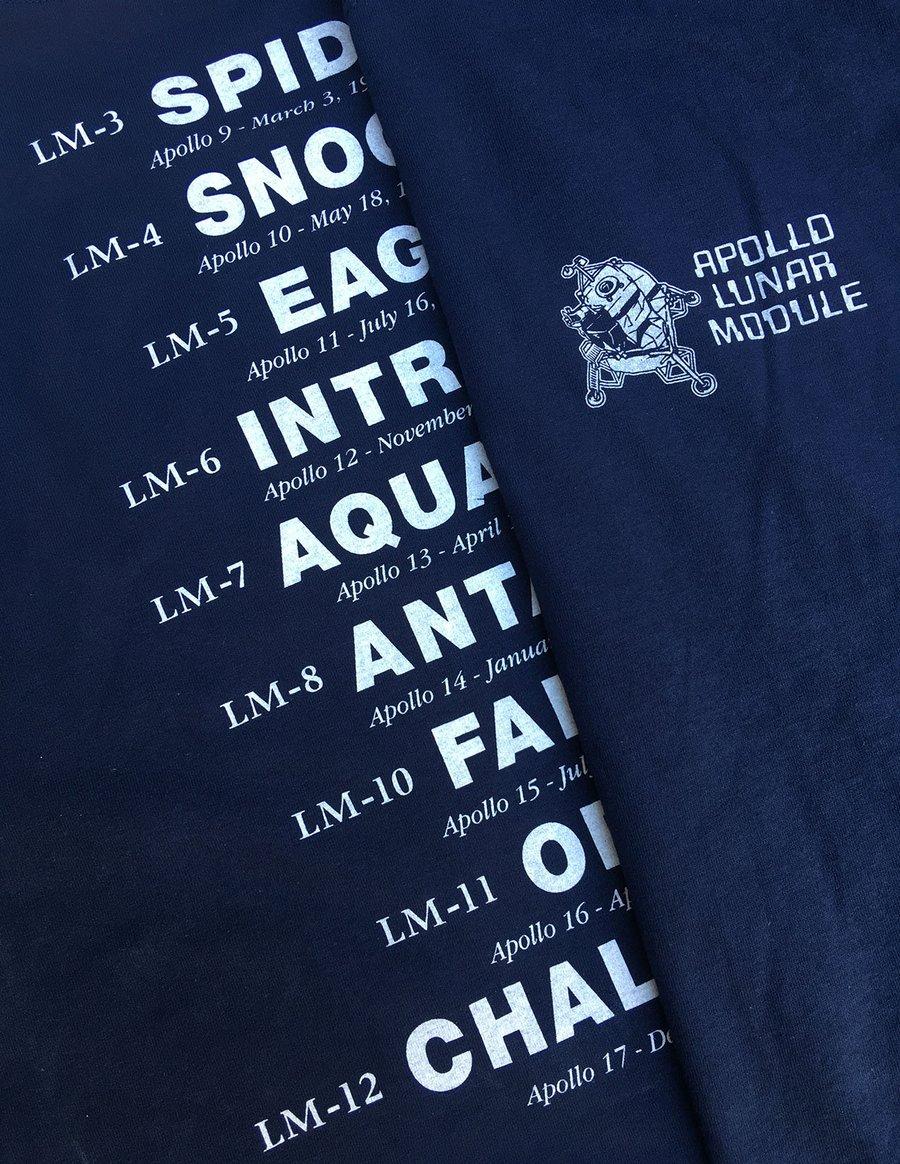 Image of Apollo Lunar Module t-shirt