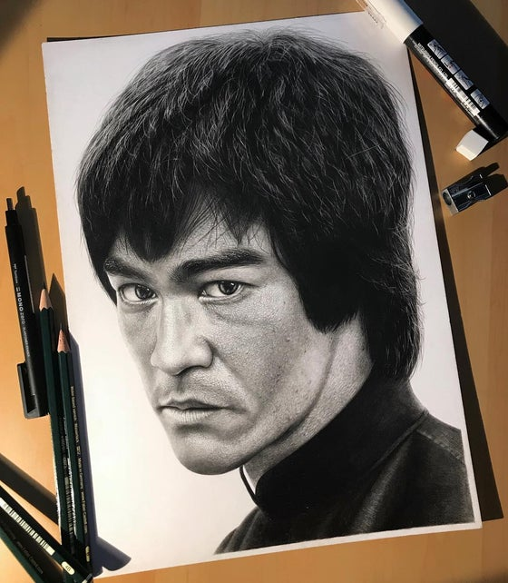 Image of Bruce Lee (Print)