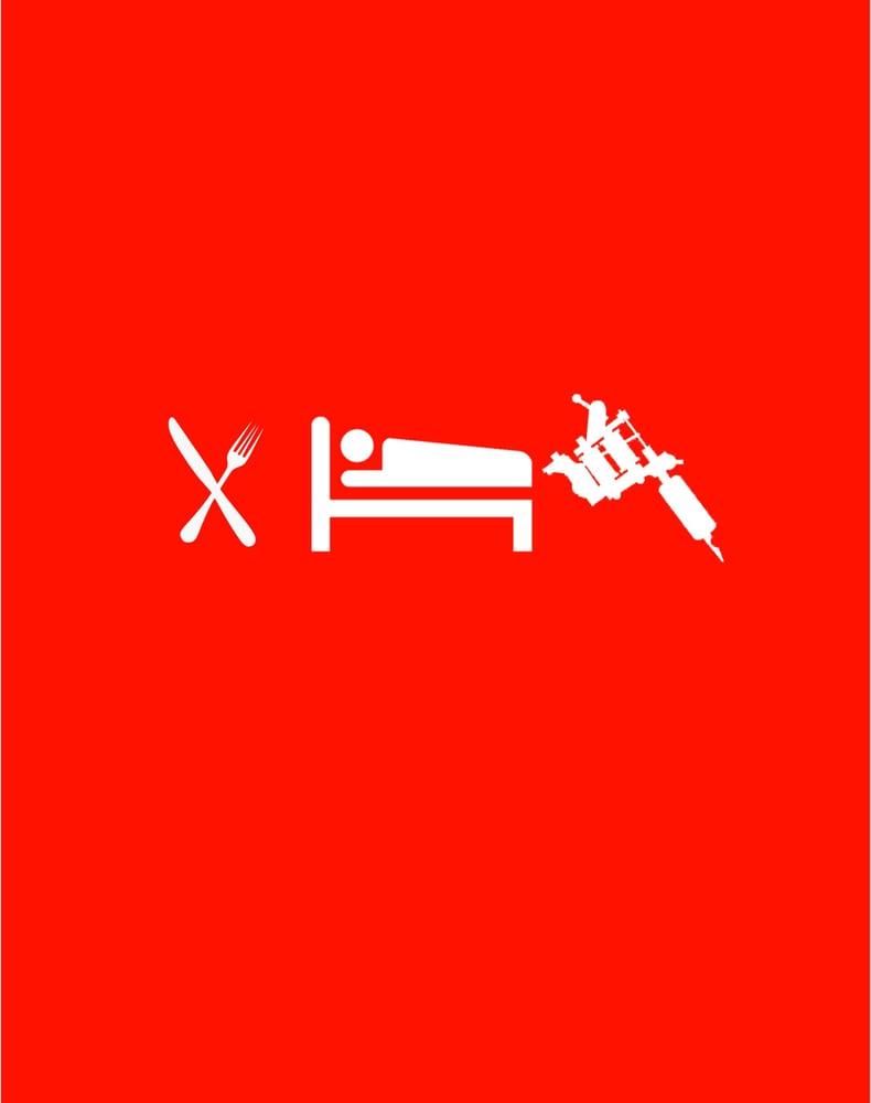 Image of Eat Sleep Tattoo
