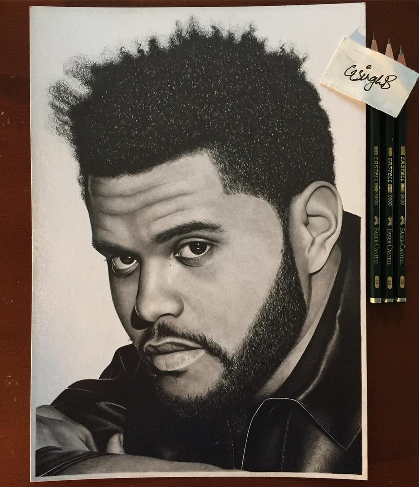 Image of The Weeknd (Print)