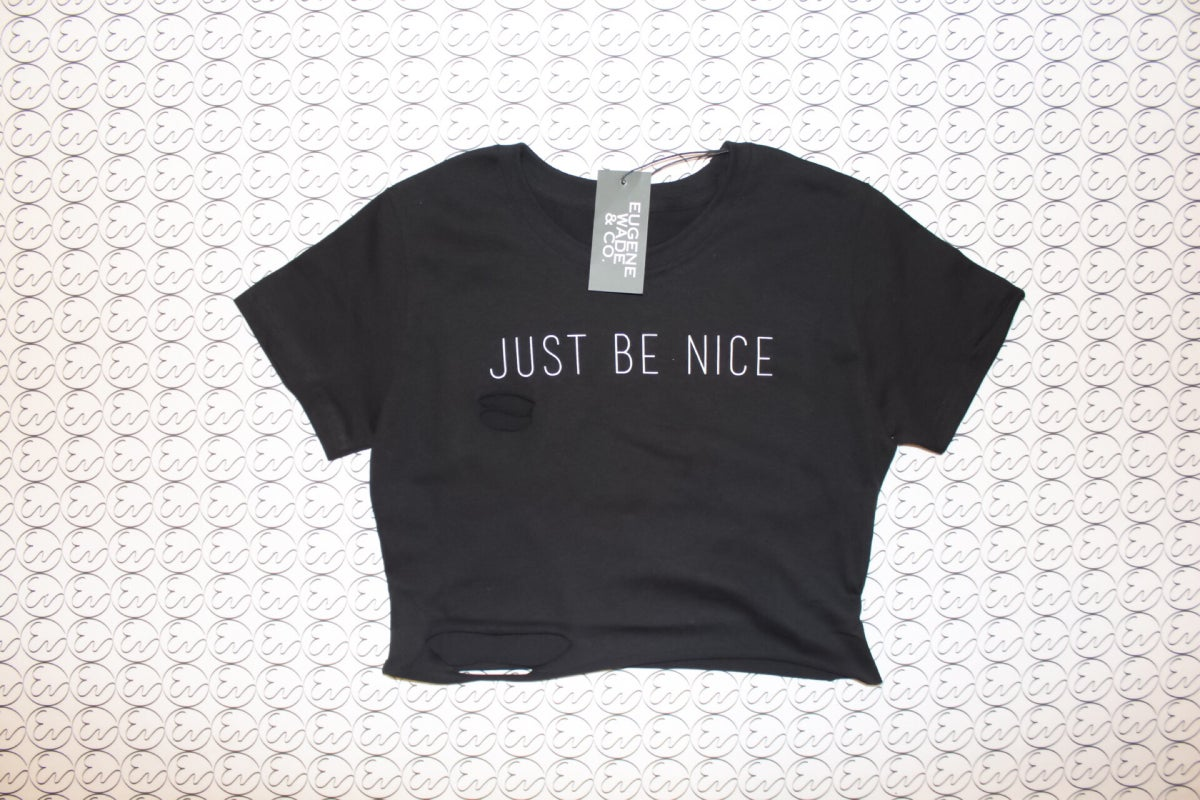 Image of JUST BE NICE