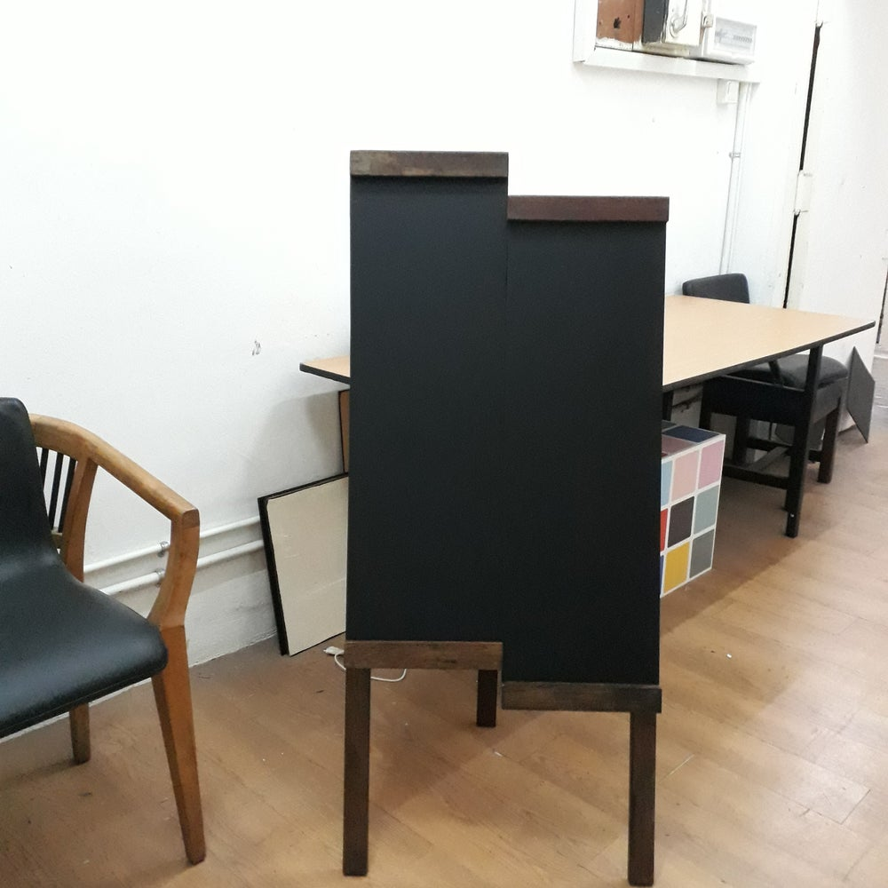 Image of Dissymmetrical Single- Sided standing Chalkboard