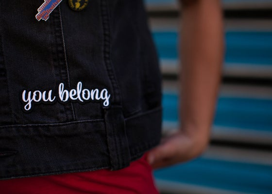 "Image of ""You Belong"" Patch"