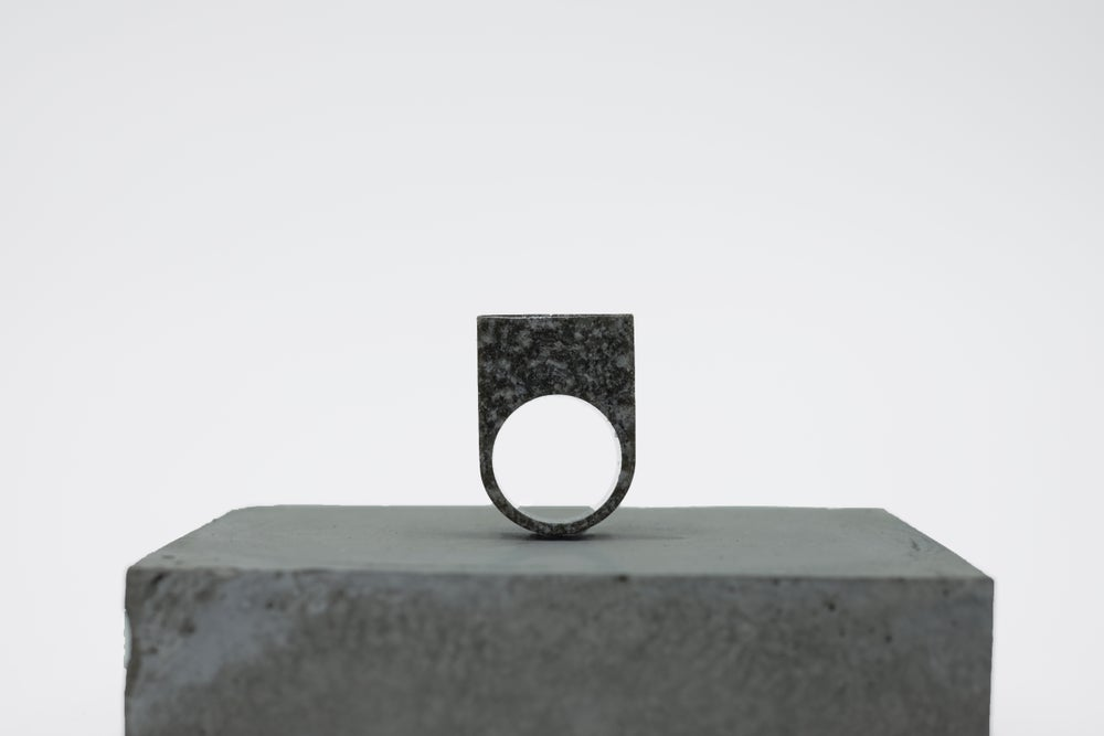 Image of SEWNSEWN - Mývatn' Cement Rings (Rectangle)
