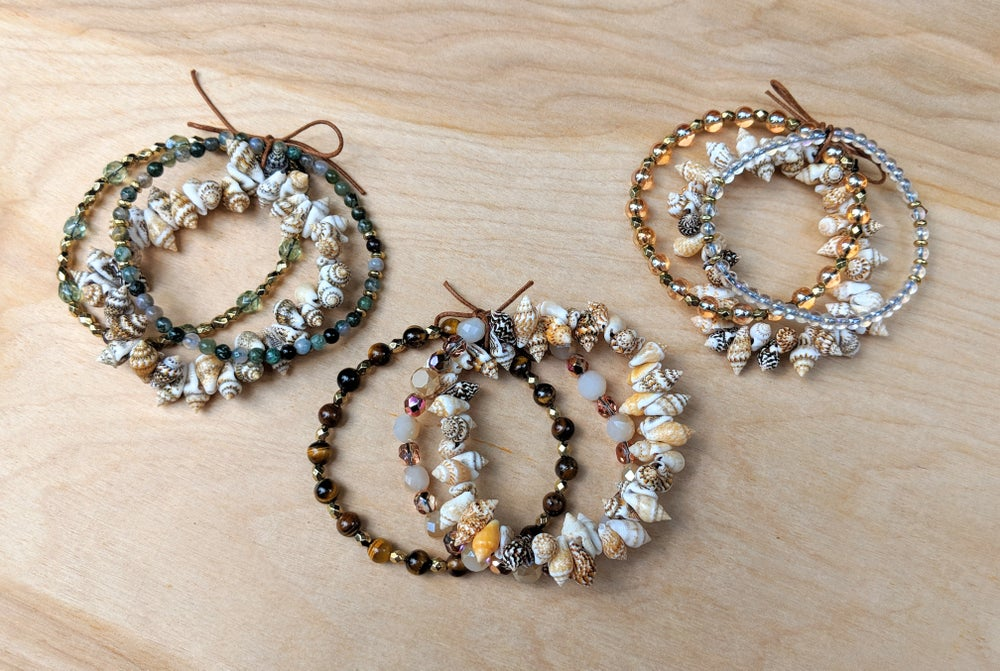 Image of Seashell Bracelet Sets