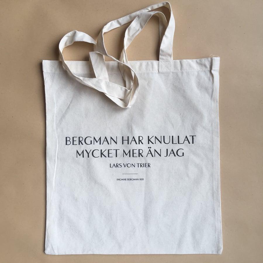 Image of Ingmar Bergman / Lars on Trier fucked tote