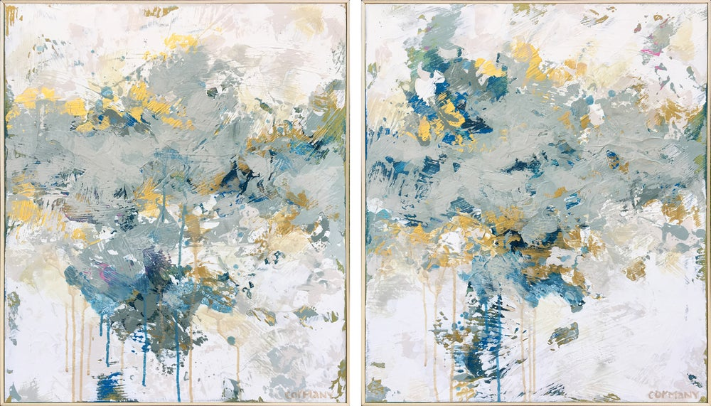 Image of Sea Shimmer (Diptych)