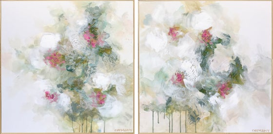 Image of Morning Blooms (Diptych)