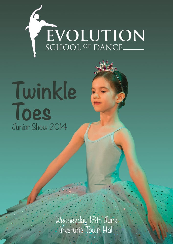 Image of Evolution School of Dance - Twinkle Toes - Junior Show 2014