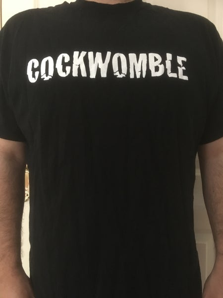 Image of Cockwomble Black T-shirt