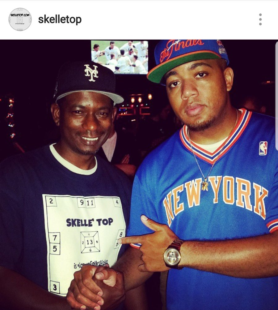 Image of Skelle' Top Yankee Bluez Tee