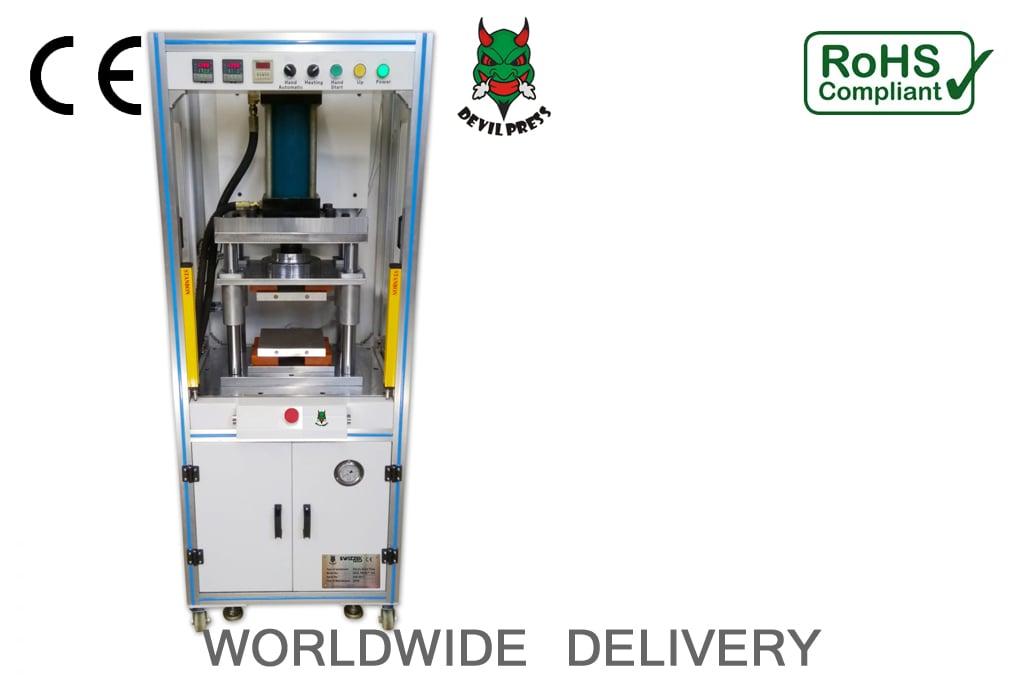 Image of DEVIL PRESS™ Alpha P60s 20 Ton Commercial Hydraulic Rosin Press