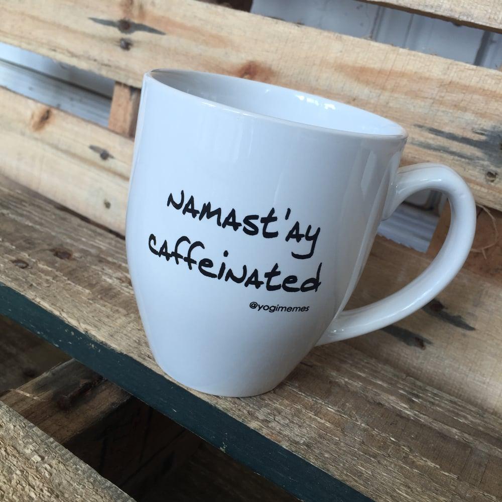 Image of Namast'ay Caffeinated Mug