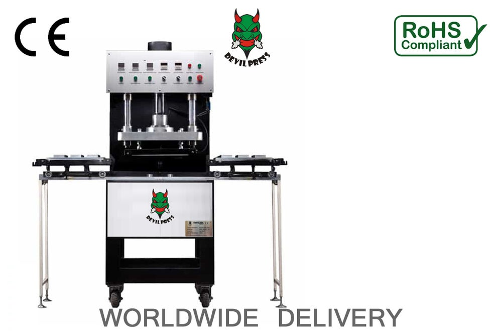 Image of DEVIL PRESS™  Solvent Zero Rosin Press 30TON COMMERCIAL  ROSIN PRESS