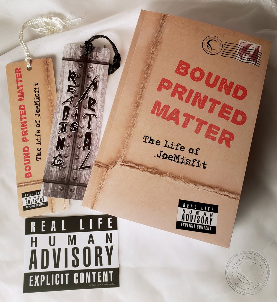 Image of Bound Printed Matter: The Life of JoeMisfit - An Autobiography