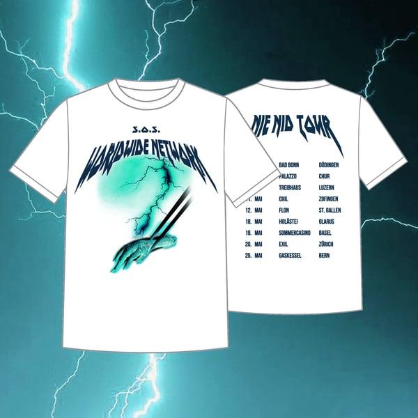 Image of Nie Nid Tour Shirt #2