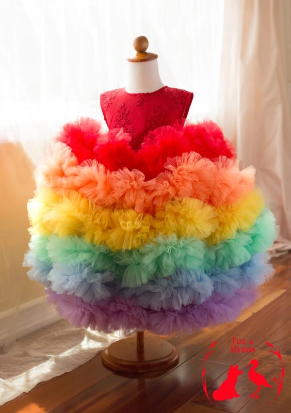 Image of Rainbow Gown