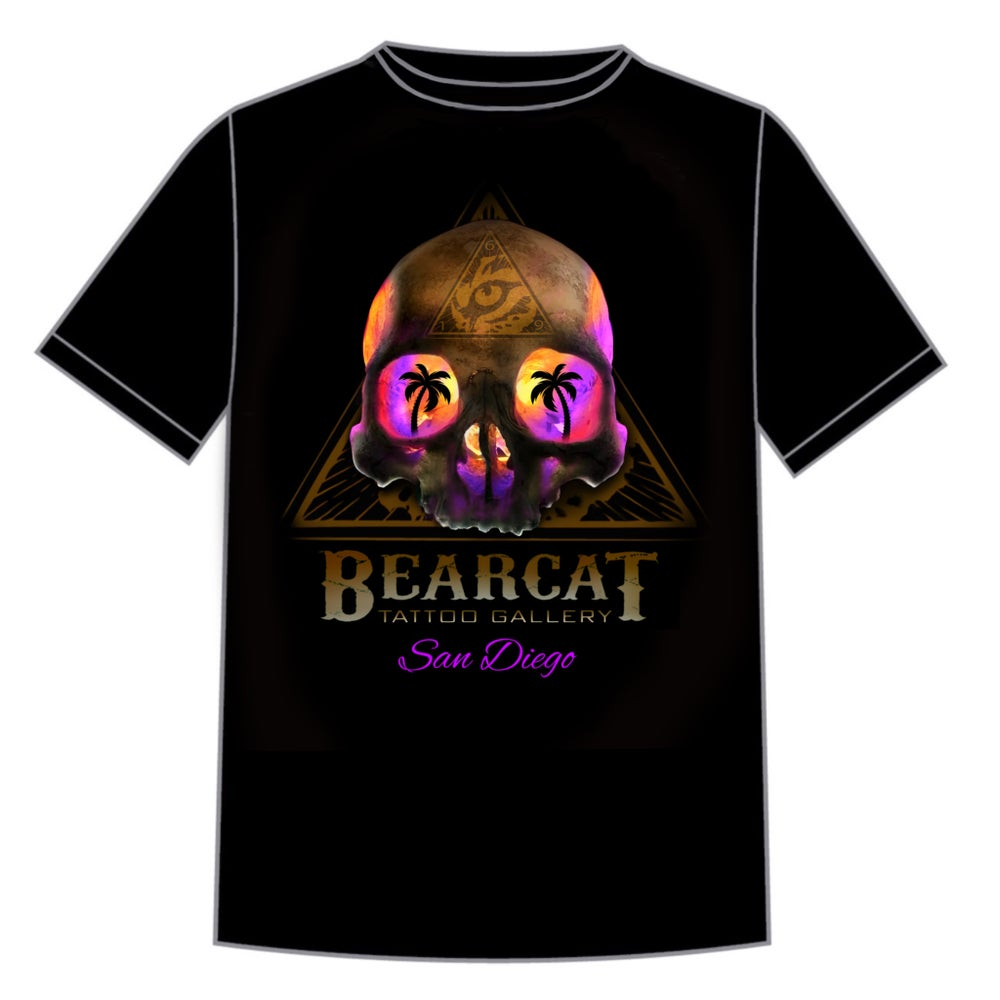 Image of Mens Skull T