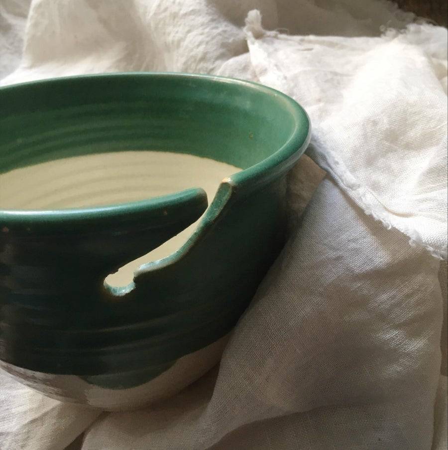 Image of Hand Thrown Yarn Bowl Small - Abel