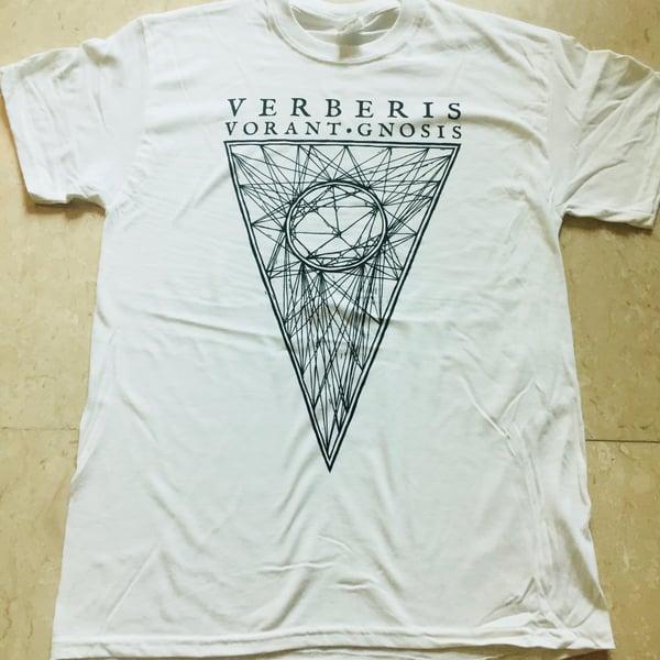 "Image of VERBERIS ""Vorant Gnosis"" White T-Shirt"