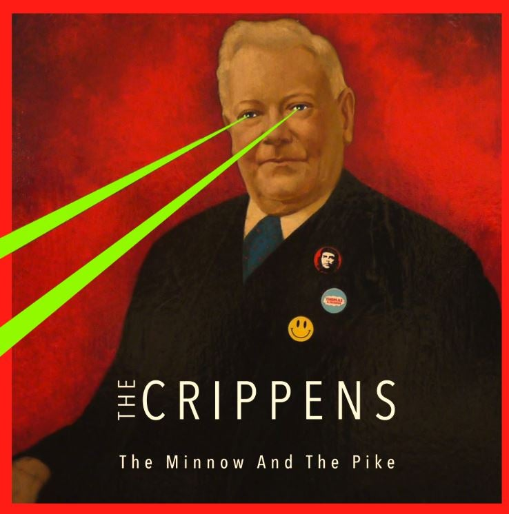 "Image of THE CRIPPENS - THE MINNOW AND THE PIKE 12"" EP"