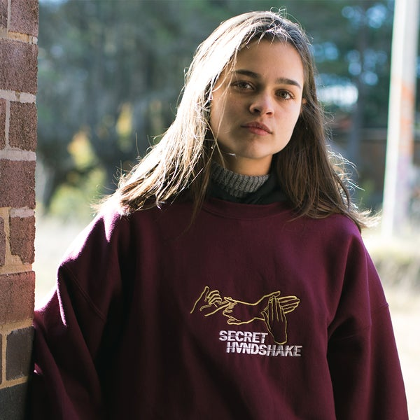 Image of Maroon SH Logo Sweat