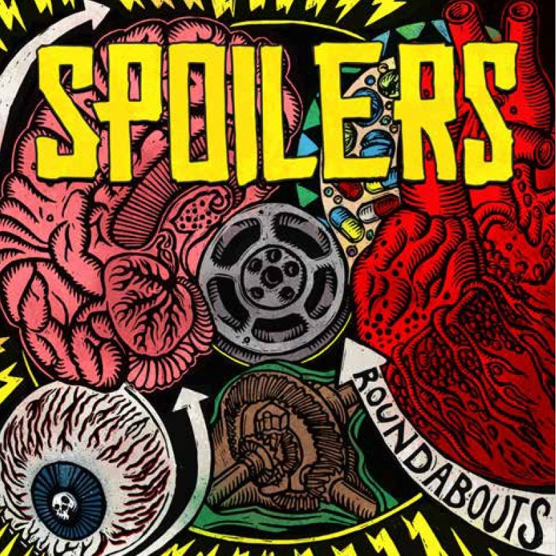 Image of SPOILERS - ROUNDABOUTS ALL FOUR VINYL VARIANTS SPECIAL EXTREMELY LIMITED OFFER!