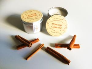 Image of Bougies 100% cire de soja et naturel made in France