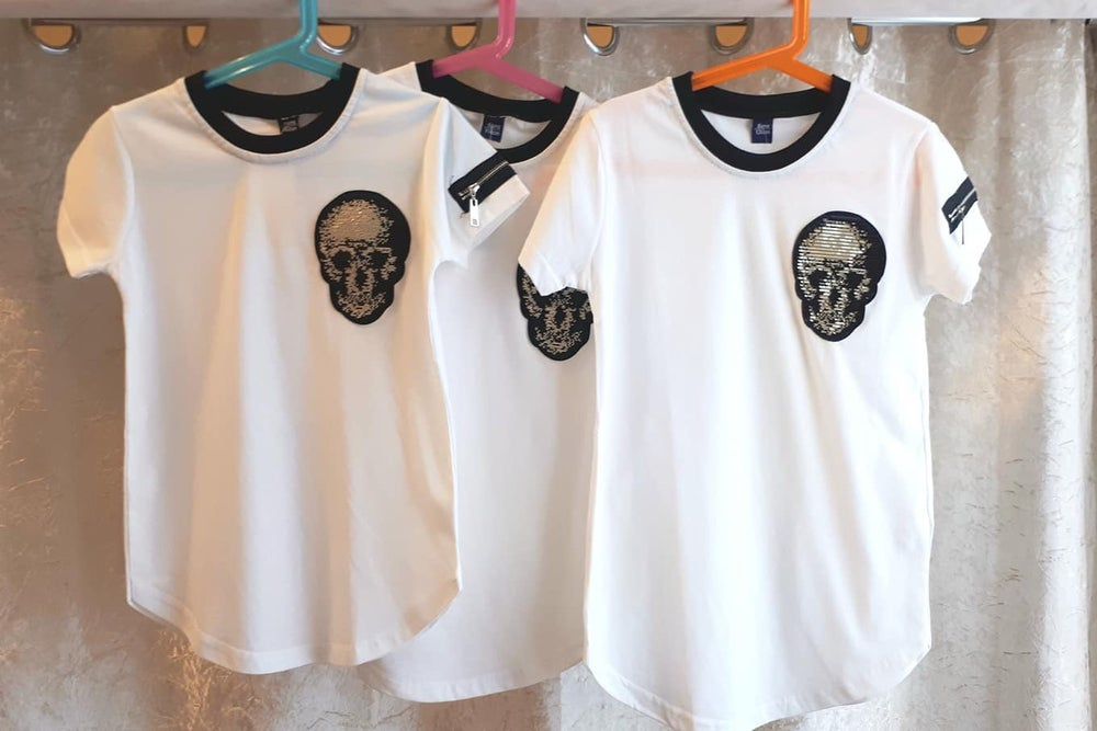 Image of Boys Skull Tee