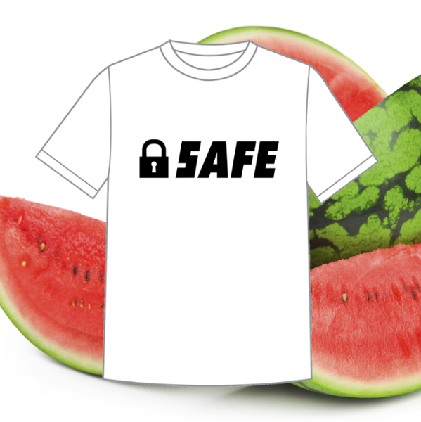 "Image of ""Safe"" Logo Print Basic"
