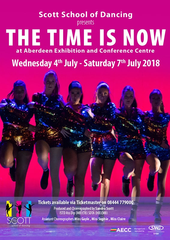 Image of The Time is Now - Scott School of Dancing 2018
