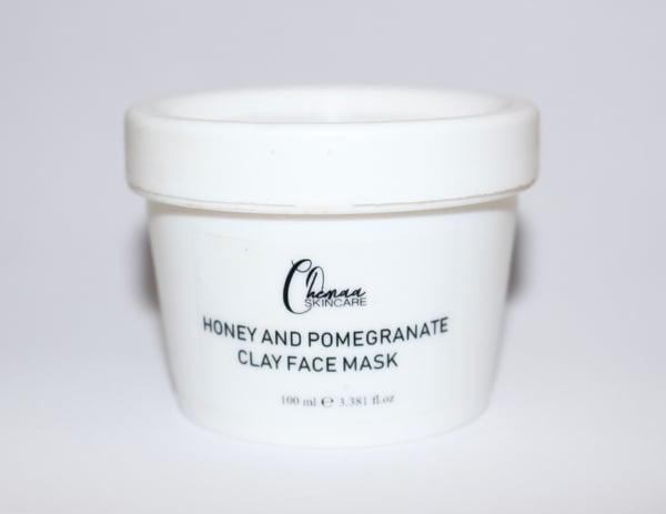 Image of Honey & Pomegranate Clay Face Mask 100g