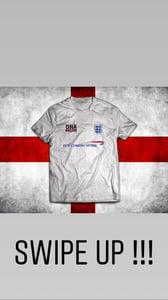 Image of OnaMadOne x Its Coming Home England Squad Tee WHITE