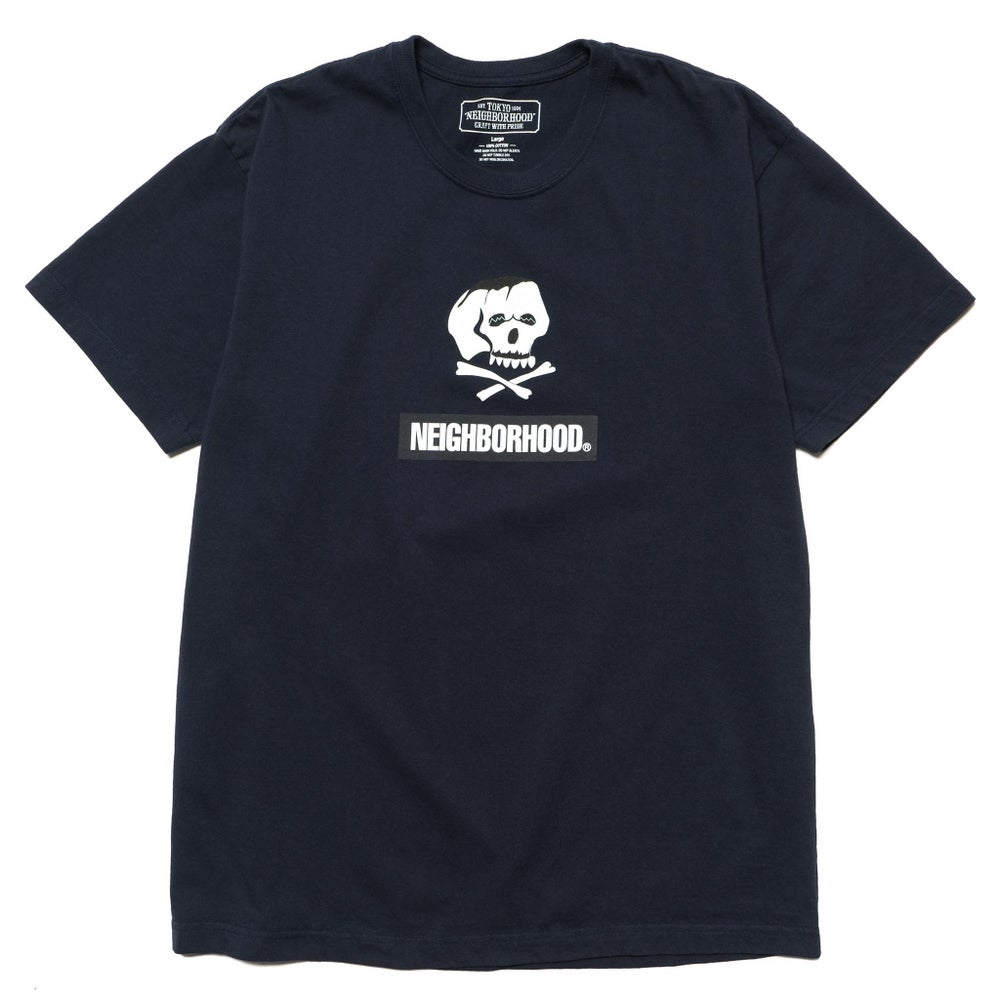Image of Neighborhood - Skull and Bones / C-Tee  (Navy)