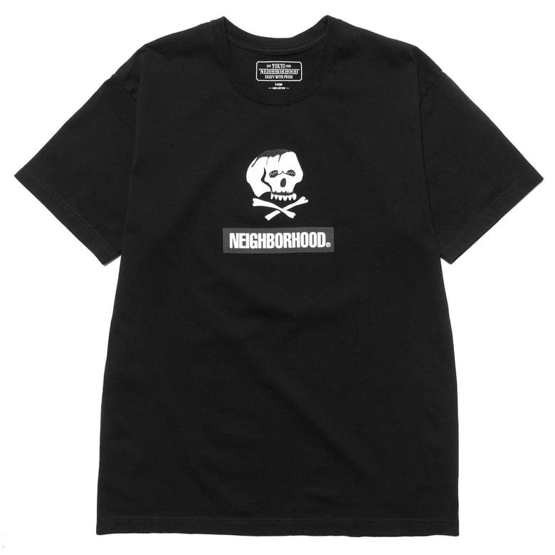 Image of Neighborhood - Skull and Bones / C-Tee (Black)