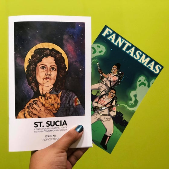 Image of ISSUE XII: Pop Cultura + Fantasmas Postcard