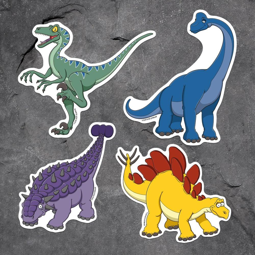 Image of Dinosaur Sticker Pack 2
