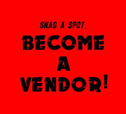 Image of Become A Vendor at Mayhem Market on November 11, 2018