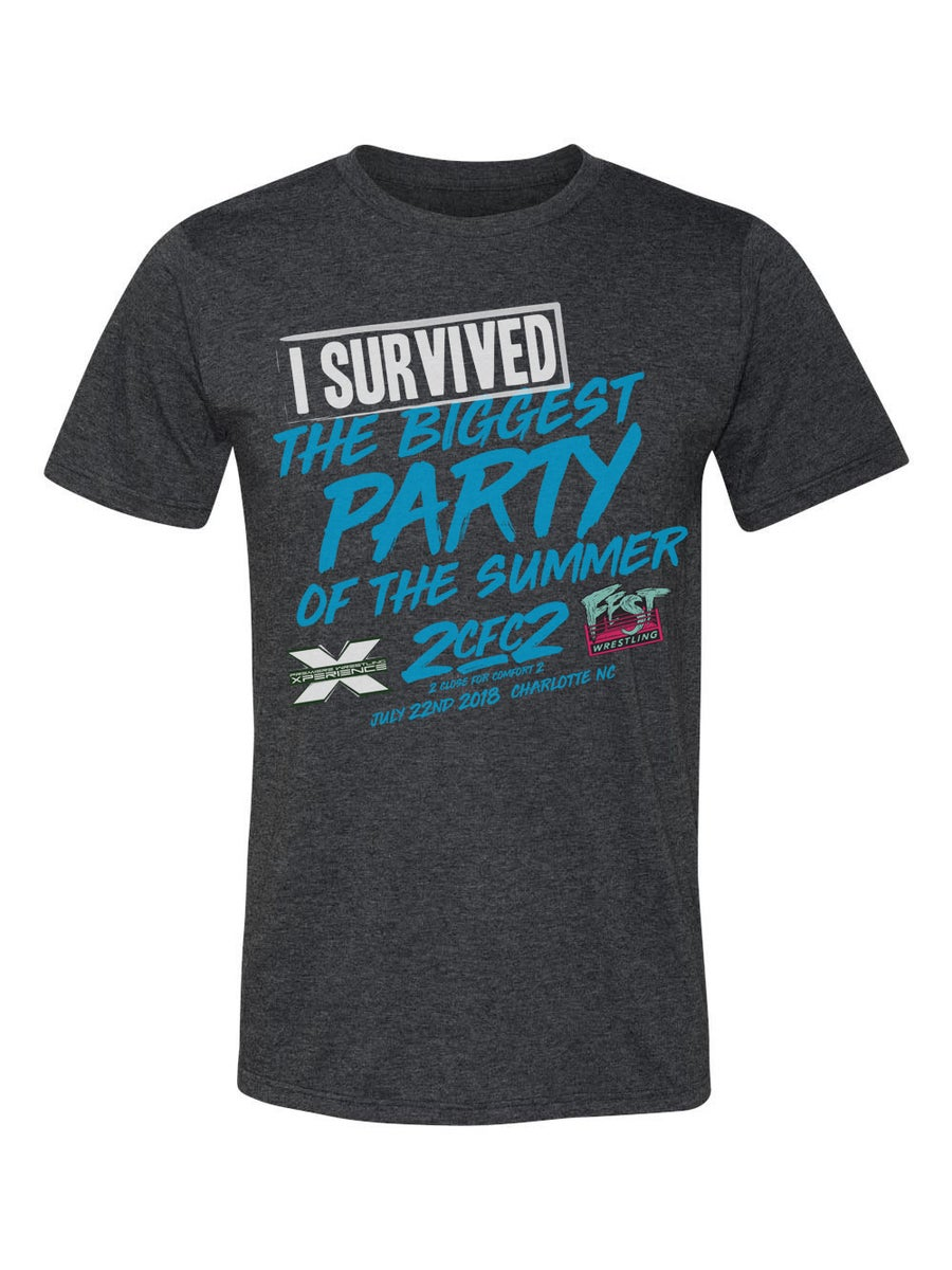 Image of I SURVIVED - 2 Close for Comfort Event Shirt