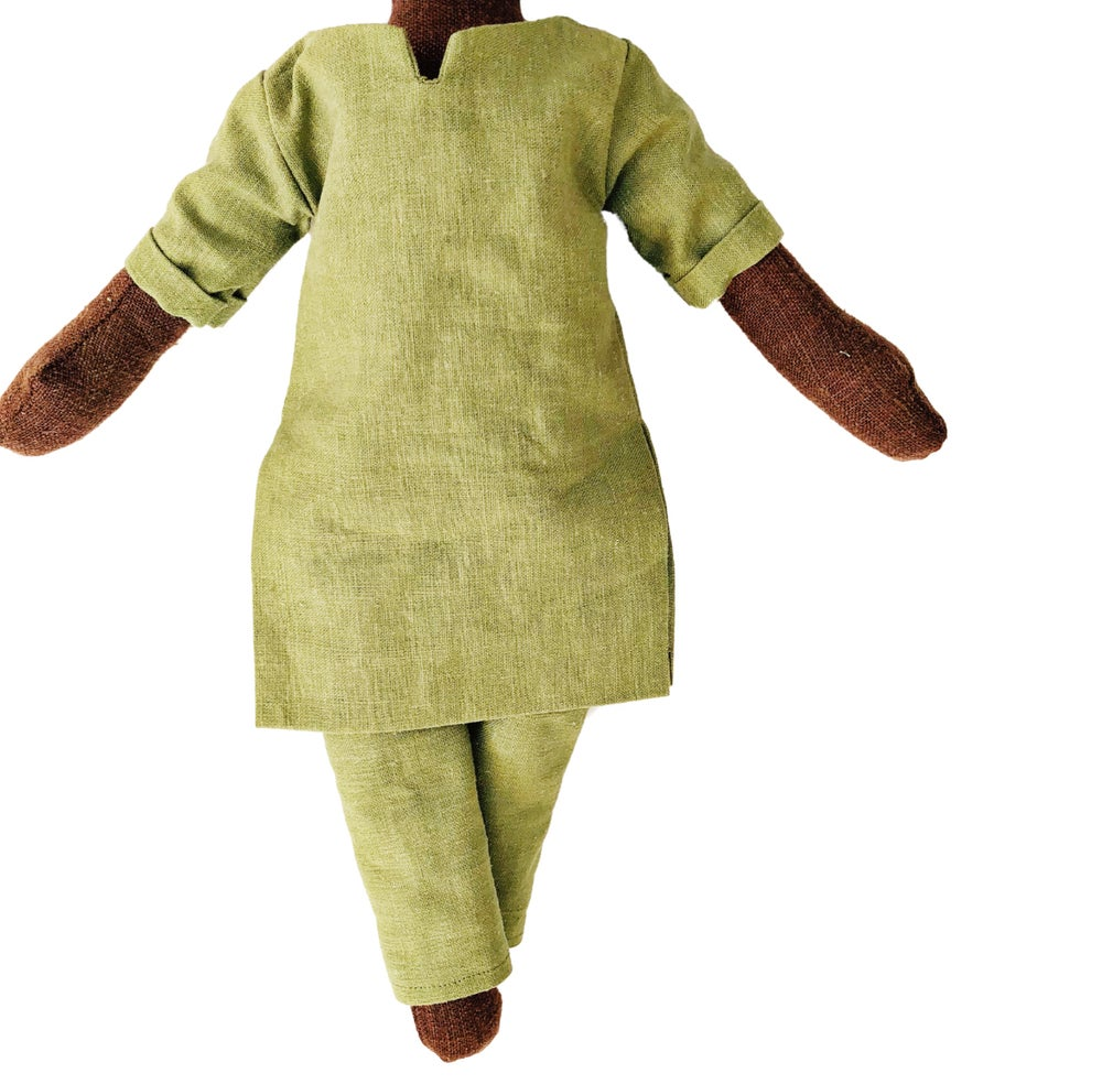 Image of 2pc Linen tunic outfit (3 color options) - Doll Accessory