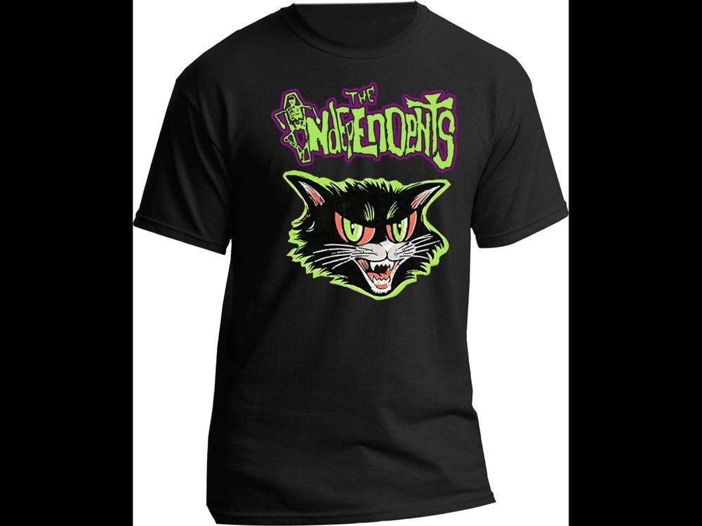 Image of The Independents Black Cat T-Shirt