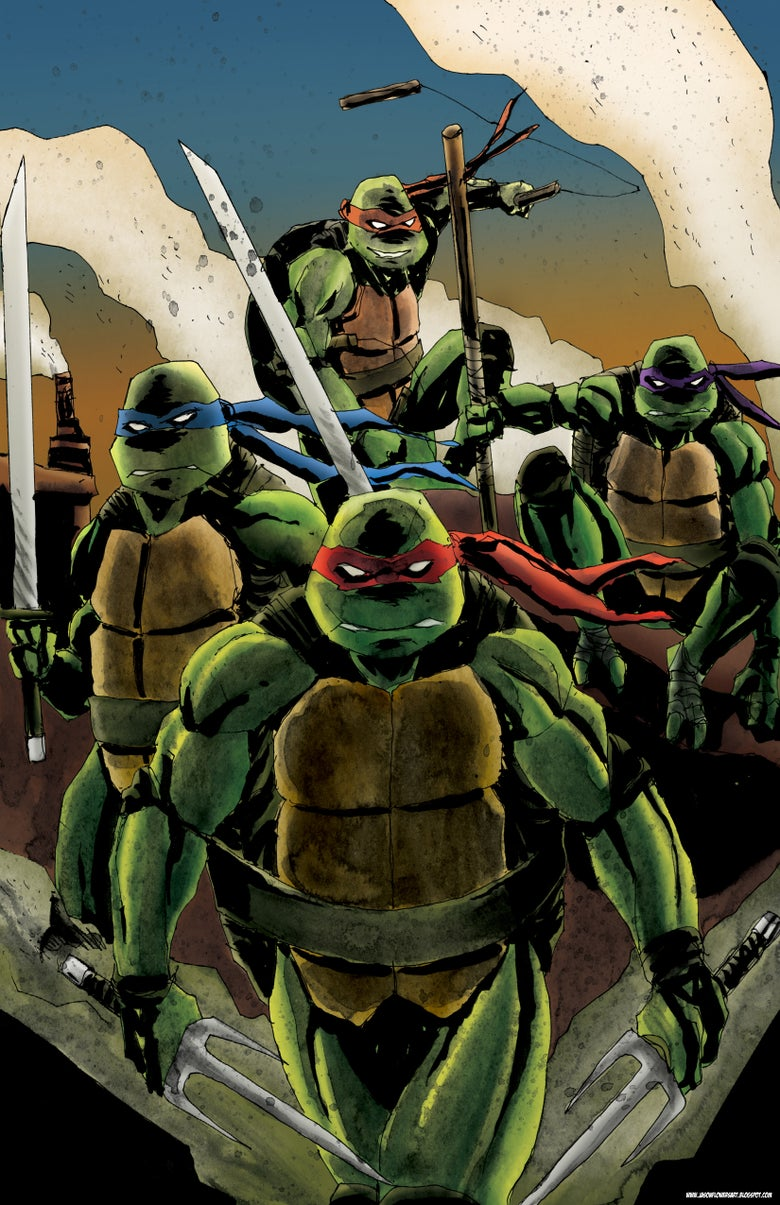 Image of TMNT - Rooftop Showdown