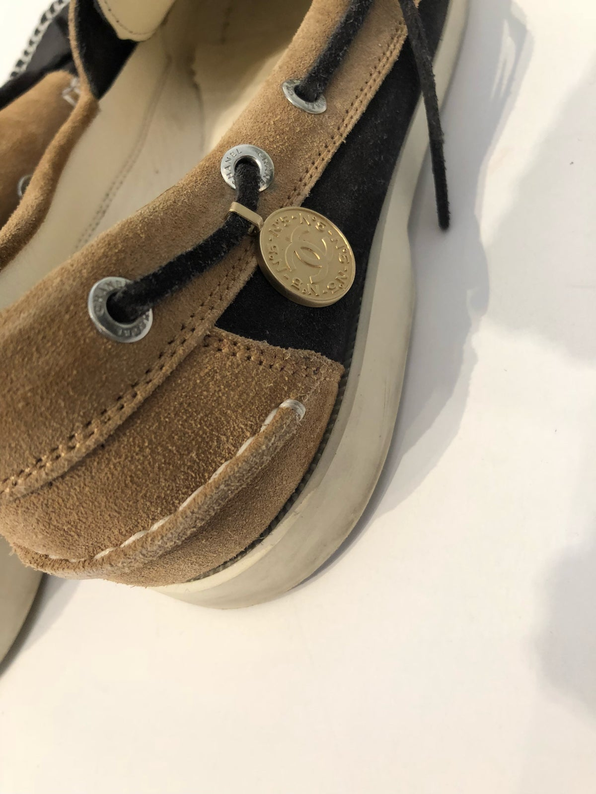 Image of CHANEL MOCCASIN LOAFERS