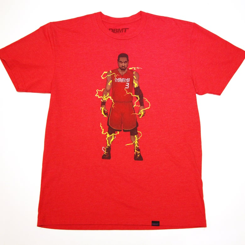 "Image of ""FLASH"" RED TEE"
