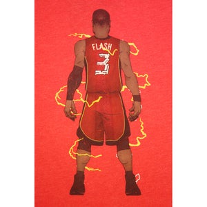 """Image of """"FLASH"""" RED TEE"""